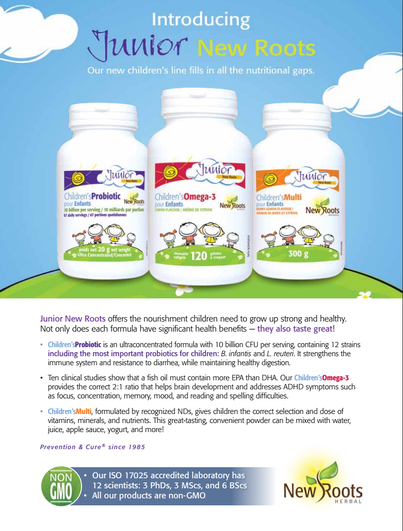Children's Vitamins & Nutrients from Body of Health